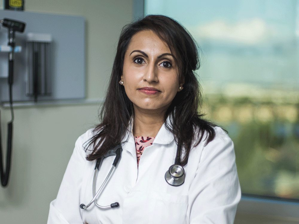 """Doctors and others have accused Dr. Kulvinder Gill of spreading conspiracy theories, being an """"extremist crank"""" and part of a """"war on science"""" because of her views on COVID-19 treatment."""