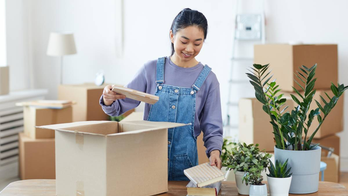 Make sure your home is pulling its weight on the property market by decluttering your spaces to open up its potential. Picture: Shutterstock.